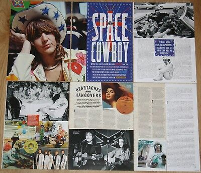 GRAM PARSONS 2013 10 page magazine article photos Flying Burrito Brothers Byrds