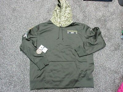 buy online d8da0 64363 salute to service cowboys hoodie xxl