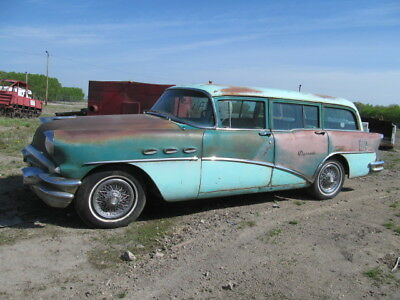 "1956 Buick Estate Wagon SPECIAL 1956 BUICK SPECIAL  ""ESTATE""  STATION WAGON RUNS.... NOMAD SAFARI"