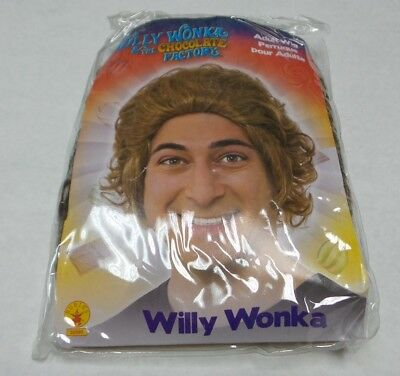 Rubies 245360 Willy Wonka & the Chocolate Factory Willy Wonka Adult Wig 14+