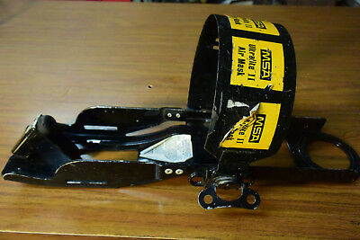 MSA Ultralite fire rescue SCBA air tank holder with harness
