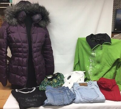 Lot Of Mens And Womens Calvin Klein Clothes Shirts Coats Jeans Other