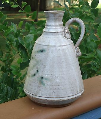 Vintage Australian Studio Pottery Handled Vase *George Brown G B Morpeth Pottery