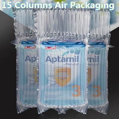 15 Columns Baby Milk Inflatable Air Packaging Bubble Bags Protective Shockproof