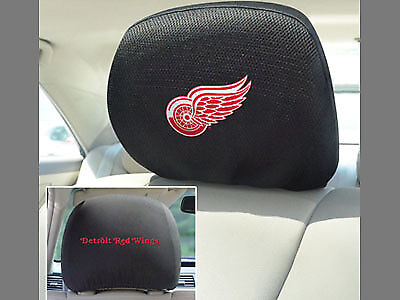 """NHL - Detroit Red Wings Head Rest Cover 10""""x13"""""""
