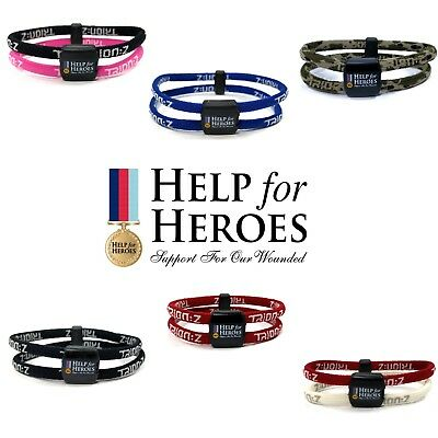 Trion:Z Polarized Magnetic Bracelet Help For Heroes Pain and Stiffness Relief