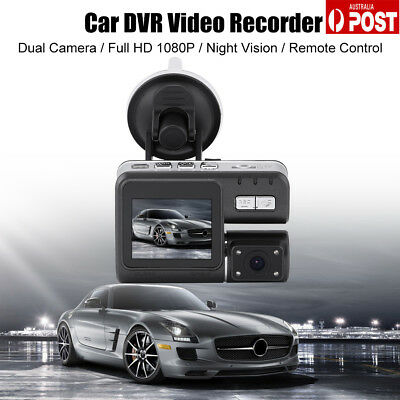 Dual Car Camera True HD 1080P G-sensor Recorder Crash Cam H 264 Dash DVR Video