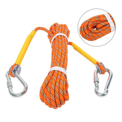 Climbing Rope Outdoor Safety Mountain Rescue Escape Rappelling Auxiliary10M 8mm