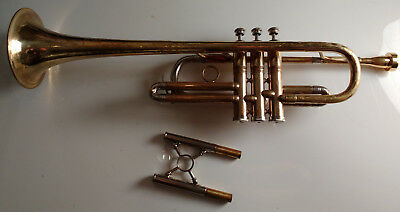 Emo Professional trumpet - Convertible C and Bb trumpet