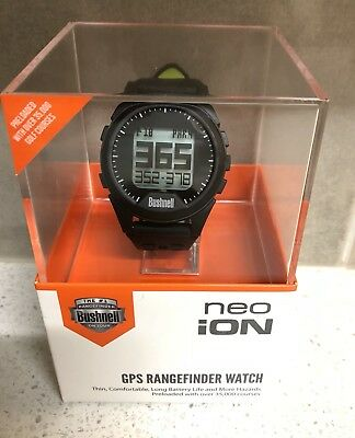 Bushnell Neo iON GPS Golf Watch Black/Green