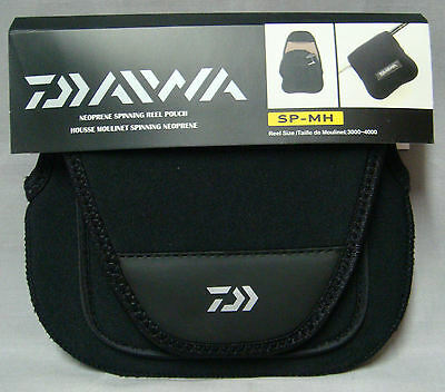 Daiwa SP-MH Neoprene Spinning Reel Cover - 3000 to 4000 Size Reels  *New*