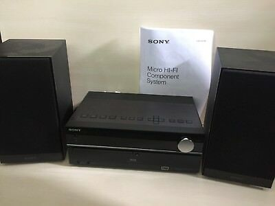 Sony Micro Hi-Fi Component Shelf System Cmt-Hx80R Dab/fm/cd/usb - Fully Working