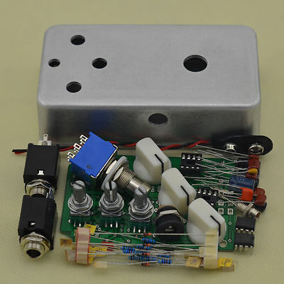Build Your Own Fuzz  Effect Pedal Full Kits With 1590B Free Shipping