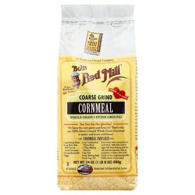BOBS RED MILL, CORNMEAL COARSE, 24 OZ, (Pack of 4)