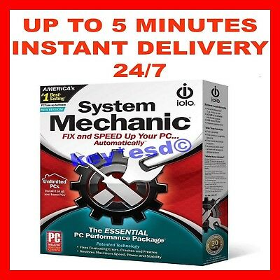 iolo System Mechanic 18 STANDARD | KEY | 6 Months 1 PC | INSTANT 5 min DELIVERY