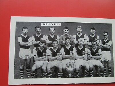 Burnley F.C. Team Photo (Printed) 1960 (New Hotspur Series No. 2)