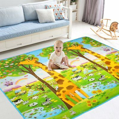 Play Mat Activity Foam Floor Soft Crawl Sit Play For Baby Educational Learning