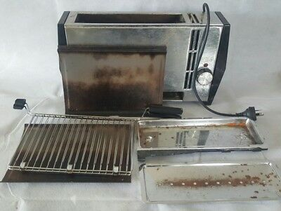 Hotpoint Vertical Grill older vintage style Model Tested & Working