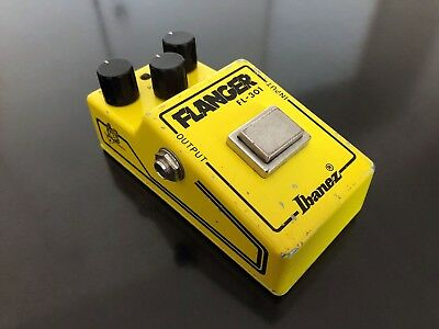1979 Ibanez FL-301 Flanger V1, narrow box, flying fingers, MIJ, Made in Japan