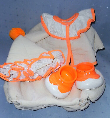 1980s Cabbage Patch Clown Outfit with Shoes (NO DOLL)