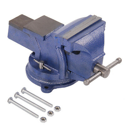 """6"""" Heavy Duty Work Bench Vice Engineer Jaw Swivel Base Workshop Vise Clamp"""