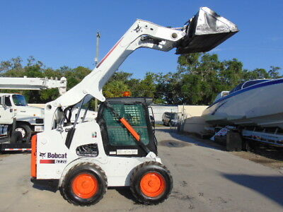 2012 Bobcat S-770 Turbo 92 Hp - Enclosed Comfort Cab - New Tires - Self Leveling