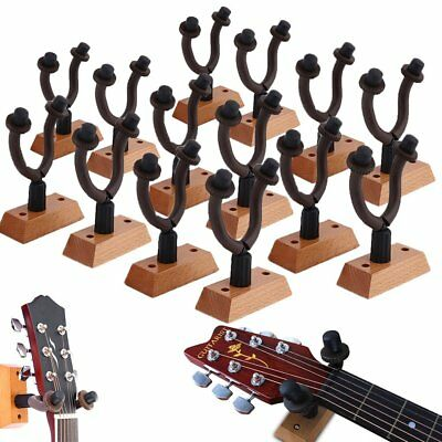 Lot Packs Guitar Wall Mount Hanger Stand Holder Hook Acoustic Electric Bass B2