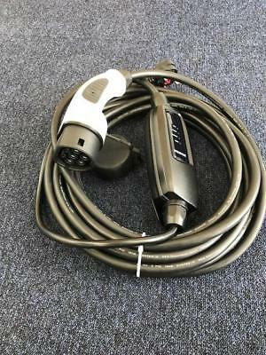 EV Charging Cable, Volkswagen Golf GTE, TYPE 2, UK 3 pin plug 10m