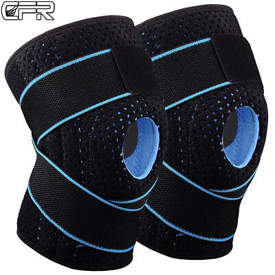 Knee Brace Support Protector Relieves Patella Tendonitis Jumpers Mensicus RW