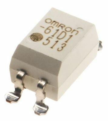 Omron 0.5 A SPNO Solid State Relay, DC, Surface Mount MOSFET, 60 V ac Maximum Lo