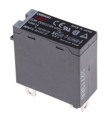 Omron 2 A Solid State Relay, DIN Rail Transistor, 60 V Maximum Load