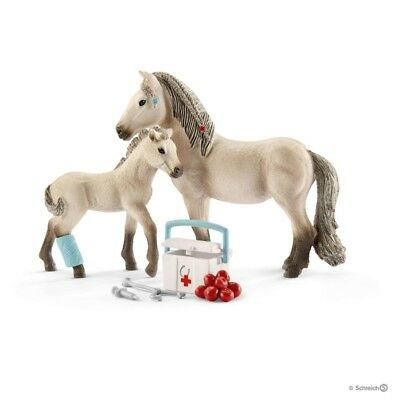 KIT PRONTO SOCCORSO cavalli SCHLEICH set gioco HORSE CLUB 42430 miniature in res