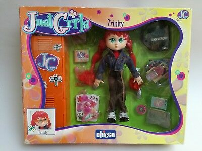 NEW Just Girls Trinity Chicco toy pop doll poupée Puppe boxed NRFB