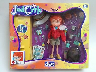 NEW Just Girls Taylor Chicco toy pop doll poupée Puppe boxed NRFB