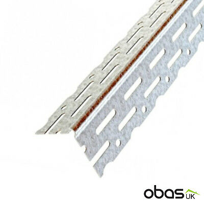 Galvanised Contract Drywall Thin Angle Coat Bead 3m 50 Pack