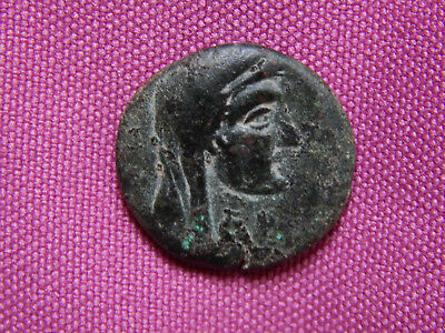 Ancient Greece, Uncertain bronze coin AE 19