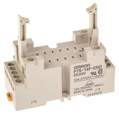Omron Relay Socket, 24V dc for use with G7S Series