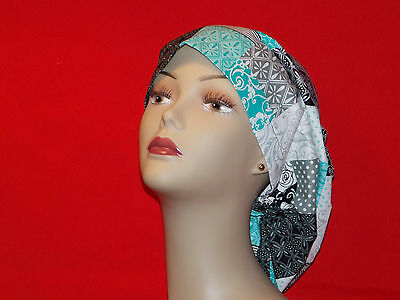 Surgical Scrub Hat Cap Smaller Bouffant Women Ladies Medical European Handmade