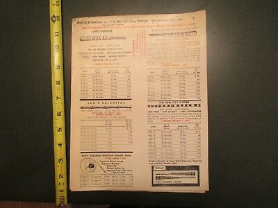 1966 Childre Sanders Foley Alabama Fishing supplies Advertising Letterhead Sales