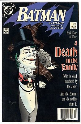 Batman (1940) #429 FN- Death in the Family Joker