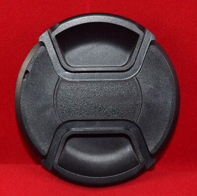 55 mm Center Pinch Snap-On Lens Cap - No Brand Name - Used