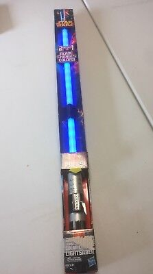 Star Wars Anakin to Darth Vader Color Change Lightsaber Ultimate Fx Hasbro New