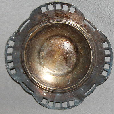Antique Austrian Argentor Silverplated Ashtray