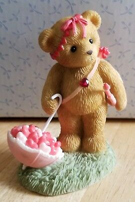 RARE NEW Cherished Teddies - Cupid With Umbrella - 4009173 - Showered With Love