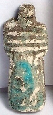 Ancient Egyptian Style Replica Ushabti Amulet 1500-500 Bc Scu444D..collectibles