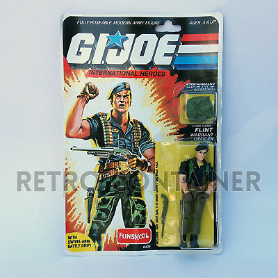 G.I. JOE GI JOE - FLINT - MISB MOC (Russian Funskool) New in Sealed Box