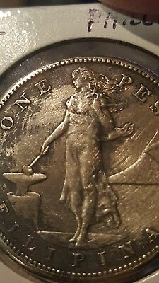 1912 S Phillipines one peso *key date*