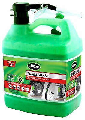 Slime Bike Flat Rubber Tire Tube Sealant Bicycle Lawn Tractor Leak Seal Repair