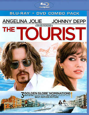 The Tourist [Two-Disc Blu-ray/DVD Combo]