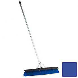 "Floor Sweep W/Squeegee 24"" - Blue, Lot of 1"